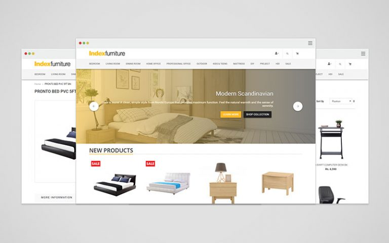 Index Furniture Nepal Website